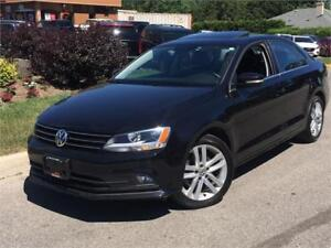 2015 Volkswagen Jetta HIGHLINE-LEATHER-ROOF-CAMERA-ONLY 43KM