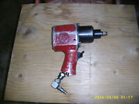 1/2 IN CHICAGO PNEUMATIC IMPACT GUN  USA MADE