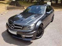 MERCEDES BENZ C63 AMG MCT 7S FACELIFT MODEL LOW MILEAGE