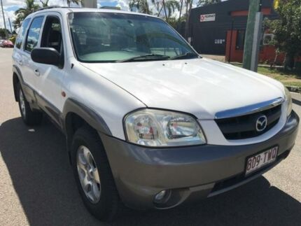 2005 Mazda Tribute White Automatic Wagon Kippa-ring Redcliffe Area Preview