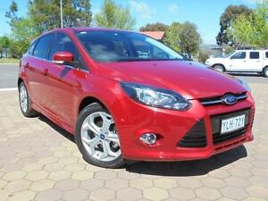 2014 Ford Focus LW MK2 Sport Red 6 Speed Automatic Hatchback Belconnen Belconnen Area Preview