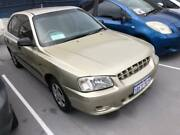 2002 Hyundai Accent LC GL 4 Speed Automatic Hatchback St James Victoria Park Area Preview