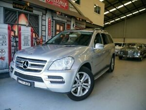 2010 Mercedes-Benz GL-Class X164 MY10 GL350 CDI Luxury Zircon Silver 7 Speed Sports Automatic Wagon Rydalmere Parramatta Area Preview