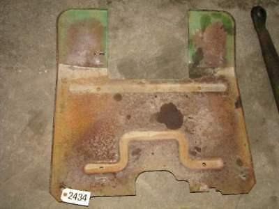 John Deere 4010 Tractor Floor Plate Id 2434