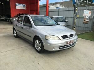 2004 Holden Astra TS Classic Silver 5 Speed Manual Sedan Clontarf Redcliffe Area Preview
