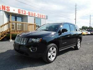 2015 JEEP COMPASS HIGH-ALTITUDE *** $66.00 WEEKLY OAC ***
