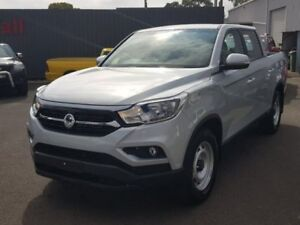 2018 Ssangyong Musso Silver Sports Automatic Utility Hoppers Crossing Wyndham Area Preview