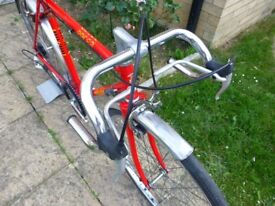 Classic childs racing bike. Raleigh Pacer colour red in fantastic condition