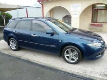 2007 Mazda 6 GG MY07 Diesel Dark Blue Mica 6 Speed Manual Wagon South Nowra Nowra-Bomaderry Preview