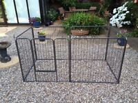 Dog Cage, 6 Piece Puppy, Play Pen, Run Enclosure, Whelping Pen - Suitable for other animals.