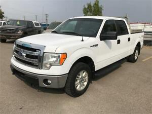 2013 Ford F-150 Crew XLT 4x4 RARE / HEAVY DUTY PAYLOAD PACKAGE**