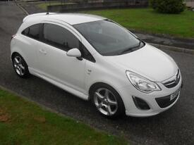 Vauxhall/Opel Corsa 1.4i 16v ( 100ps ) ( a/c ) 2011.5MY SRi 5380 FSH 3 Dr White