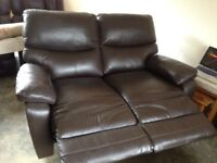 Harveys 2 seater electric reclining sofa. 12 months old