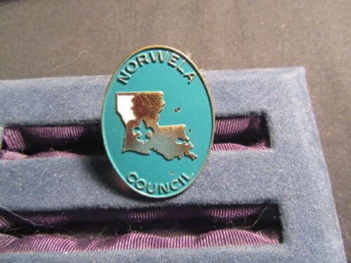 Norwela Council Metal Neckerchief Slide   c52