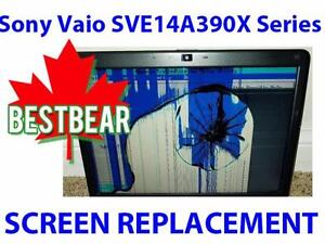 Screen Replacment for Sony Vaio SVE14A390X Series Laptop