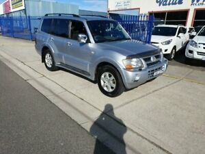 2004 Mitsubishi Pajero NP Exceed LWB (4x4) Silver 5 Speed Auto Sports Mode Wagon Dandenong Greater Dandenong Preview