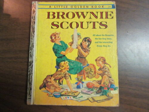 Brownie Scouts, Little Golden Book, 1961      BB