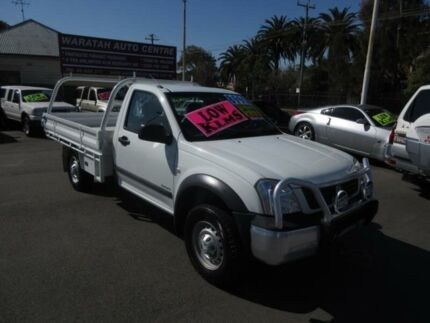 2004 Holden Rodeo RA LX White 5 Speed Manual Cab Chassis Waratah Newcastle Area Preview