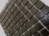 Beautiful Black / Graphite Marble / Stone Mosaic Tiles 30cm x 30cm - Feature Panel / Border / Floor