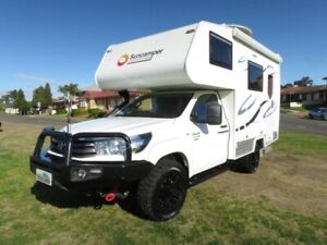 2018 Suncamper Sherwood E Series – 4x4 – ONLY 1,600KMS Glendenning Blacktown Area Preview