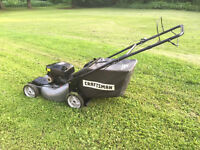 Lawnmower Craftsman self-propelled heavy duty, perfect condition