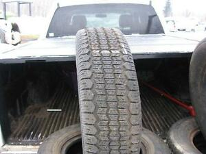 Complete Set of Tiger Paw ice and Snow P195 70R14 Tires #L.