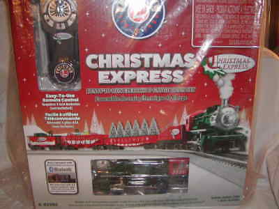 Lionel 6-82982 Christmas Express Train Set O 027 LionChief New 2017 Bluetooth