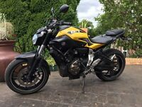 2015 Yamaha MT-07 ABS