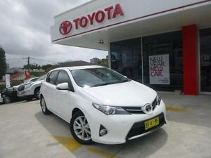 2013 Toyota Corolla ZRE182R Ascent Sport Glacier White 7 Speed CVT Auto Sequential Hatchback Allawah Kogarah Area Preview