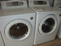 LG ultra capacity front load washer and dryer,
