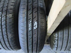 195/65r15 like new continental a/s tire