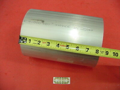 6 Aluminum 6061 Round Rod 8.5 Long T6511 6.00 Diameter Solid Lathe Bar Stock