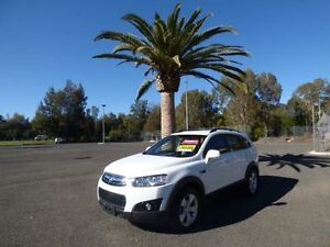 2011 Holden Captiva CG Series II 7 CX White Auto Sports Mode Wagon Cabramatta Fairfield Area Preview