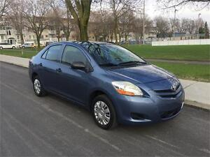 2007 TOYOTA YARIS,MANUEL , AIR CLIMTISE,4 CYLINDRE 1.5 LITRES
