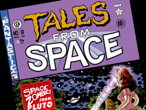 BACK TO THE FUTURE Tales from space comic book