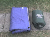 A Double Sleeping Bag + a Single Bag
