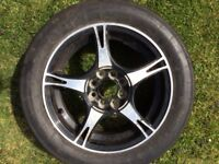 """15"""" Tarmac rally tyres on alloys, various, must be seen, SR6"""