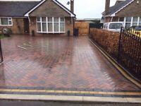 Driveways patios Indian sandstone proceiln tiles concrete artificial grass free quotes