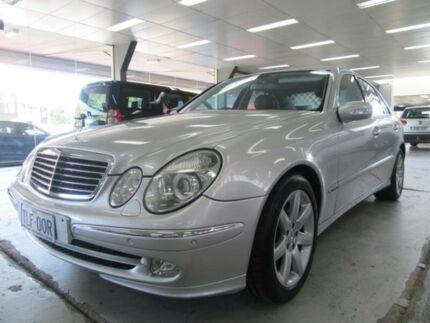 2002 Mercedes-Benz E500 211 Avantgarde Silver 5 Speed Auto Touchshift Sedan