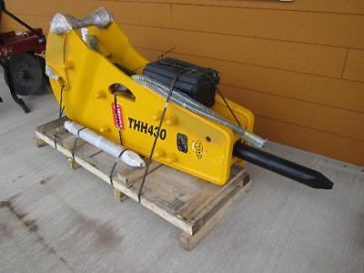 Heavy Equipment Attachments - Hydraulic Hammer