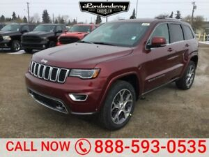 2018 Jeep Grand Cherokee 4X4 STERLING EDITION              8.4 T