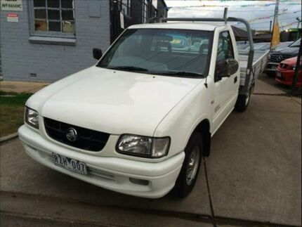 2002 Holden Rodeo TFR9 MY02 LX 5 Speed Manual Footscray Maribyrnong Area Preview