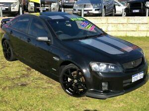 2010 Holden Commodore VE MY10 SV6 Black 6 Speed Sports Automatic Sedan
