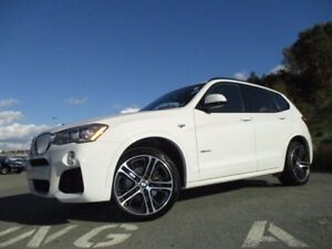 2017 BMW X3 xDrive28i (ONLY 9700 KMS, ONE OWNER TRADE, AWD, NA