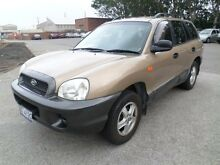 2004 Hyundai Santa Fe Elite (4x4) Gold 4 Speed Automatic Wagon Georgetown Newcastle Area Preview