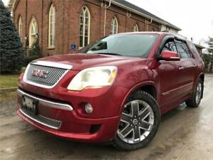 2012 GMC Acadia Denali - FULLY LOADED - AWD - LEATHER -CERTIFIED