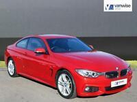 2014 BMW 4 Series 420D M SPORT Diesel red Automatic