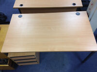 Desks, chairs, pedestals & other office furniture priced to go fast since wer're moving very soon.