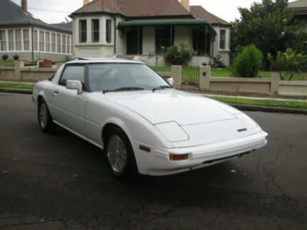 1984 Mazda RX7 Limited White 5 SP MANUAL Coupe Burwood Burwood Area Preview
