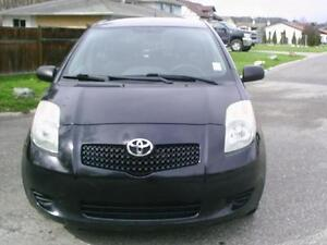2007 Toyota Yaris LE - Automatic - Only 105 km